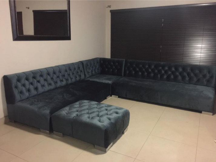 Chesterfield L Shape Couch