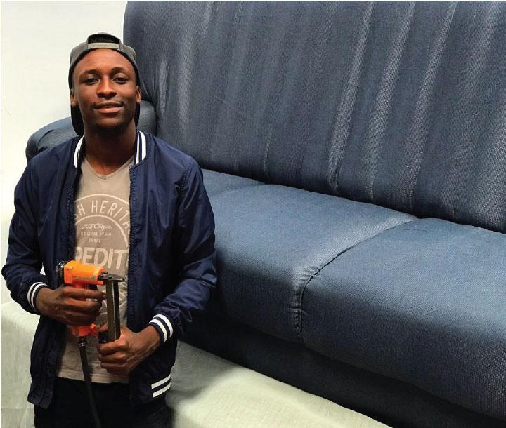 Upholstery Expert in Cape-Town- Golden Musarurwa